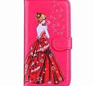 cheap -Case For Xiaomi Redmi Note 5A Redmi Note 4 Card Holder Wallet with Stand Flip Magnetic Pattern Full Body Cases Sexy Lady Hard PU Leather