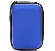 cheap -Storage Bags Solid Colored PU Leather for Headphone / Earphone