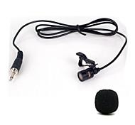 Недорогие -мини-портативный клип-на лацкане lavalier hands-free 3,5 мм разъем конденсатора проводной микрофон микрофон
