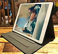 Недорогие -Кейс для Назначение Apple iPad mini 4 Бумажник для карт Кошелек со стендом С узором Авто Режим сна / Пробуждение Чехол Мультипликация