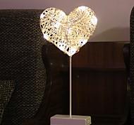 abordables -novedad llevó la luz de la noche la lámpara del patrón estrella de amor para la decoración del hogar lámpara de mesa regalo de navidad