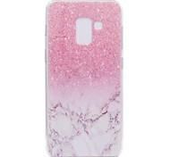 cheap -Case For Samsung Galaxy A8 2018 A8 Plus 2018 Transparent Pattern Back Cover Marble Soft TPU for A3(2017) A5(2017) A7(2017) A8+ 2018 A8