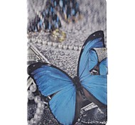 cheap -Case For Samsung Galaxy Tab E 9.6 Card Holder with Stand Flip Pattern Full Body Cases Butterfly Hard PU Leather for Tab E 9.6