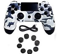 Недорогие -игровой контроллер джойстика джойстика джойстика игровой контроллер с силиконовой крышкой для ps4