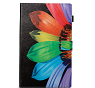 cheap -Case For Amazon Card Holder Wallet with Stand Pattern Auto Sleep/Wake Up Full Body Cases Flower Hard PU Leather for Kindle Fire hd 10(7th