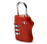 Недорогие -таможенный кодекс блокирует 4 коробки дорожного мешка пароль замок металлический четыре замка tsa338
