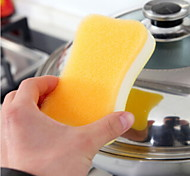 cheap -High Quality 1pc Microfiber Sponge Sponge & Scouring Pad, 11*7*3