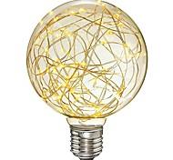 abordables -1pc 3W 300lm E26 / E27 Ampoules à Filament LED G95 33 Perles LED SMD Étoilé Décorative Lampe LED Blanc Chaud 85-265V