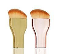 Недорогие -1шт Кисти для макияжа профессиональный Кисть для румян Синтетические волосы Для профессионалов / Мягкость / синтетический Смола