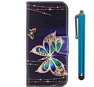 cheap -Case For Huawei P9 lite mini P10 Lite Card Holder Wallet with Stand Flip Magnetic Full Body Cases Butterfly Hard PU Leather for P10 Lite