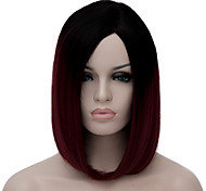 cheap -Synthetic Wig Red Women's Capless Carnival Wig Halloween Wig Capless Wig Short Synthetic Hair