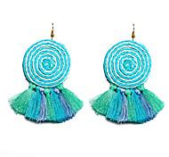 cheap -Women's Drop Earrings - Bohemian, Fashion Yellow / Pink / Light Blue For Party / Masquerade