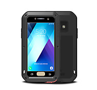 cheap -Case For Samsung Galaxy A3(2017) Water/Dirt/Shock Proof Full Body Cases Solid Color Hard Metal for A3(2017)