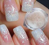 Недорогие -1pcs Акриловый порошок / Гель для ногтей / Порошок блеска Элегантный и роскошный / Блеск и сияние Дизайн ногтей