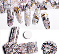 cheap -1 Nail Sticker Nail Decals Casual/Daily Special Designed Nail Art Design