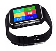 cheap -Smartwatch X6 for Android Touch Screen / Water Resistant / Water Proof / Calories Burned Pedometer / Activity Tracker / Sleep Tracker
