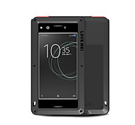 cheap -Case For Sony Xperia XZ Premium Water/Dirt/Shock Proof Full Body Cases Solid Color Hard Metal for Sony Xperia XZ Premium