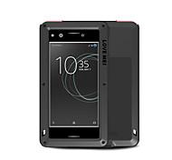 Недорогие -Кейс для Назначение Sony Xperia XZ Premium Вода / Грязь / Надежная защита от повреждений Чехол Сплошной цвет Твердый Металл для Sony