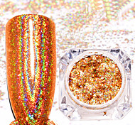 cheap -2pcs Glitter Powder Glamorous Glitter Nail Glitter Nail Art Tips Nail Art Design