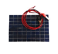 cheap -ZDM® 10W 12V Output 0.65A Monocrystalline Silicon Solar Panel(DC12-18V)