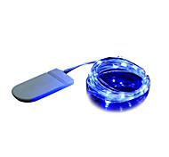 Недорогие -BRELONG® Гирлянды 20 светодиоды Тёплый белый Белый Фиолетовый Зеленый Синий Декоративная <5V