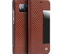 cheap -Case For Huawei Mate 10 pro Mate 10 Shockproof with Windows Flip Full Body Cases Solid Color Hard Genuine Leather for Mate 10
