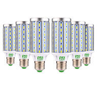 cheap -YWXLIGHT® 6pcs 25W 2000-2500 lm E26/E27 LED Corn Lights T 72 leds SMD 5730 Decorative Warm White Cold White AC 85-265V