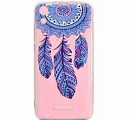 cheap -Case For Wiko U Feel Lite Robby Transparent Pattern Back Cover Dream Catcher Soft TPU for Wiko U Feel Lite Wiko U Feel Wiko Sunny Wiko