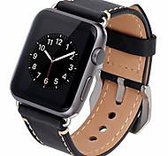 abordables -Ver Banda para Apple Watch Series 3 / 2 / 1 Apple Correa de Cuero Piel Correa de Muñeca
