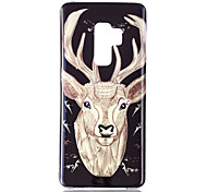 cheap -Case For Samsung Galaxy S9 S9 Plus Glow in the Dark IMD Pattern Back Cover Shine Animal Soft TPU for S9 Plus S9 S8 Plus S8 S7 edge S7 S6