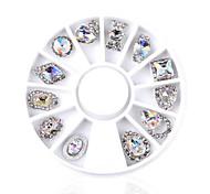 economico -2 Gioielli per unghie Glitter per unghie N/D Quotidiano Altro Formale Serata Nail Art Design