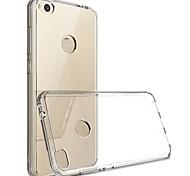 abordables -Funda Para Huawei P10 Lite P10 Transparente Funda Trasera Color sólido Suave TPU para P10 Lite P10 Huawei P9 Lite Huawei P9 P8 Lite