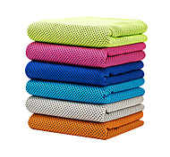 cheap -Cooling Towel Odor Free Eco-friendly Soft Multi-purpose Breathable Non Toxic Microfiber cm Yoga Gym Travel Green Blue Pink Navy Grey