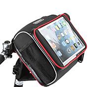 Недорогие -ROSWHEEL Сумка Бардачок на руль Сотовый телефон сумка 5.7 дюймовый Влагонепроницаемый Водонепроницаемая молния Пригодно для носки