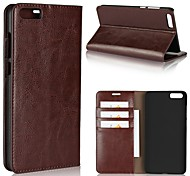 cheap -Case For Xiaomi Redmi Note 5A Mi 6 Plus Card Holder Wallet Shockproof with Stand Full Body Cases Solid Color Hard Genuine Leather for