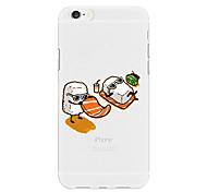 Недорогие -Кейс для Назначение Apple iPhone X iPhone 8 Plus С узором Кейс на заднюю панель Продукты питания Мультипликация Мягкий ТПУ для iPhone X
