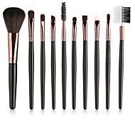 cheap -10-Pack Makeup Brushes Professional Makeup Brush Set / Eyeshadow Brush / Lip Brush Nylon Full Coverage Plastic Portable / Universal