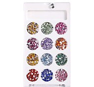 cheap -1pcs Nail Jewelry Free Form Rhinestone Cute Crystal / Rhinestone Style Daily Nail Art Forms Nail Art Tool Sets DIY
