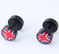 cheap -Women's Stud Earrings - Fashion / European Black The Union Jack Earrings For Causal / Daily