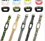 preiswerte -Uhrenarmband für Gear Fit 2 Samsung Galaxy Moderne Schnalle Silikon Handschlaufe