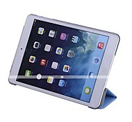abordables -Funda Para iPad de Apple iPad Mini 4 Mini iPad 3/2/1 iPad 4/3/2 iPad Air 2 iPad Air con Soporte Activado / Apagado Automático Origami