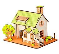 Недорогие -Деревянные пазлы Пазлы и логические игры Пейзаж Мода Классика Мода Новый дизайн профессиональный уровень Фокусная игрушка Стресс и
