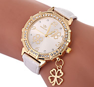 cheap -Women's Quartz Fashion Watch Chinese Casual Watch PU Band Charm Fashion Black White Blue Gold Purple Rose