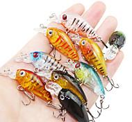 cheap -9 pcs Fishing Lures Minnow Hard Bait Hard Plastic Sea Fishing Bait Casting Spinning Jigging Fishing Freshwater Fishing Other Trolling &