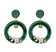 cheap -Women's Drop Earrings / Hoop Earrings - Drop, Flower European, Fashion Light Yellow / Red / Green For Party / Evening / Street