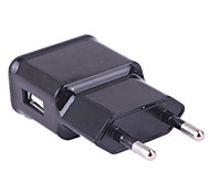 cheap -Portable Charger Phone USB Charger EU Plug 1 USB Port 1A DC 5V