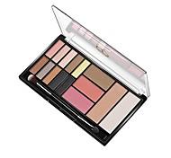 Недорогие -Makeup 3pcs Тени для век Pro Комбинация Тени / Тени для век Waterproof Цветной Смоки айс / Макияж для вечеринки / Макияж на Хэллоуин