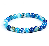 cheap -Men's / Women's Strand Bracelet / Bracelet - Bohemian, Fashion Bracelet Light Blue For Birthday / Evening Party
