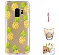 cheap -Case For Samsung Galaxy S9 Plus / S9 Pattern Back Cover Fruit Soft TPU for S9 / S9 Plus