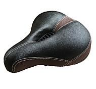 Недорогие -Седло для велосипеда Пригодно для носки, Износостойкий, Удобный Велоспорт губка / PU Черный